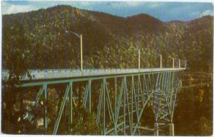 Bender Memorial Bridge Standard West Virginia WV