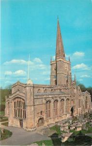 Burford UK~Parish Church of St John the Baptist & Cemetery Aerial View 1950