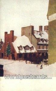 Winter Scene Quebec Canada Unused
