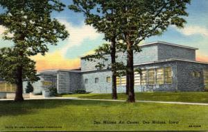 Iowa Des Moines Art Center Curteich