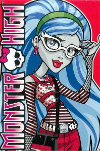 Monster High by Panini 2011 Mattel Inc. card 049