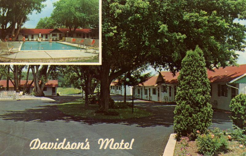 NY - Watertown. Davidson's Motel