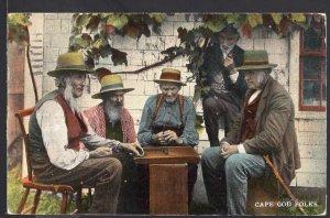 Massachusetts ~ CAPE COD FOLKS pm1911 - Divided Back - Vintage
