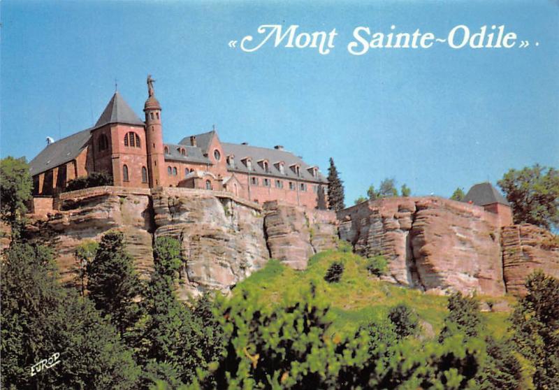 France Mont Sainte Odile, Sainte Odile fonda un Monastere