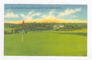 1st Tee,Forest Park Golf Course,Martinsville,VA '30-40s