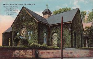 Old Saint Pauls Church Norfolk Virginia