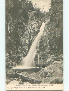 Unused Pre-1907 GLEN ELLIS FALLS WATERFALL White Mountains NH Q1661