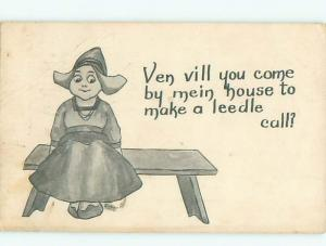 Divided-Back CHILDREN SCENE Great Postcard AA5520