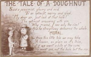 Humour The Tale Of A Doughnut