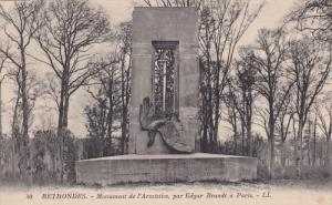 Monument De l'Armistice, Par Edgar Brandt A Paris, RETHONDES (Oise), France, ...