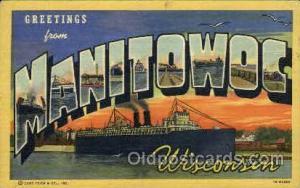 Manitowoc, Wisconsin, USA Postcard Post Card