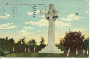 Togus, Maine, Soldiers Monument, New Cemetery