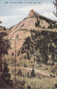 The Devil's Slide, C. C. Short Line, Colorado, 1900-1910s