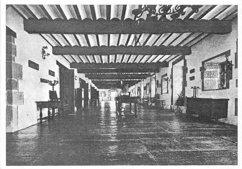 BR7781 Avez vous vu le monastere Regina Coeil Santillana del Mar 6x4cm  france