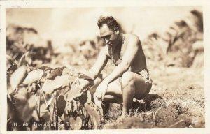 RP:David & His Tara Patch , HONOLULU ,  Hawaii , 1942