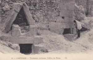 CARTHAGE, Tunisia, 1900-1910's; Tombeaux Puniques, Colline De Byrsa