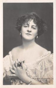 Miss Marie Studholme~Actress~Victorian Edwardian Musical Comedy~1910 RPPC