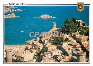 Postcard Modern Tossa de Mar (Brave Casta) General view of the Vila Vella