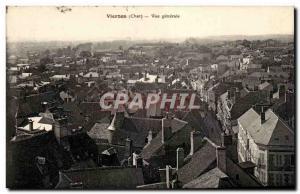 Old Postcard Vierzon General view
