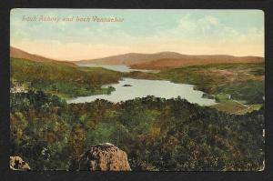 Loch Achray Loch Vennachar Scotland unused c1910's