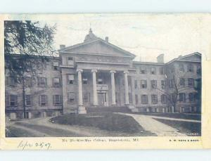 Pre-1907 KEE-MAR COLLEGE Hagerstown Maryland MD A1982