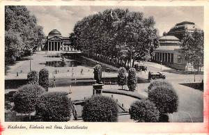 Wiesbaden Germany Kuchaus mit Hess Staatstheater Wiesbaden Kuchaus mit Hess S...