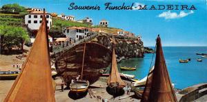 Portugal Camara de Lobos (Madeira) Barcos de pesca Bateaux de peche