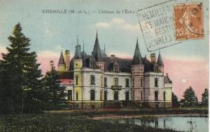 CPA CHEMILLE Chateau de l'Echo (171448)