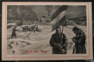 Mint Germany Picture Postcard PPC WW1 After The Victory 1914