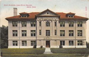 Ames Iowa State University (College) Dairy Building~1911 Postcard