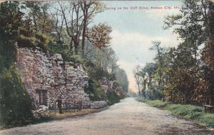 Missouri Kansas City Spring On The Cliff Drive 1909