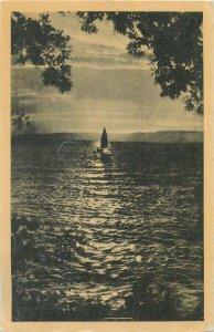 Budapest Postcard Balaton Sunset panorama