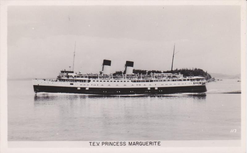 RP: Ocean Liner , T.E.V.. Princess Marguerite , 1930-40s