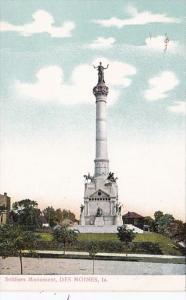 Iowa Des Moines Soldiers Monument