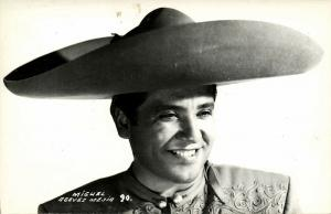 Mexican Actor, Composer, and Singer Miguel Aceves Mejía (1950s) RPPC