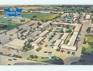 Unused Pre-1980 DESERT INN MOTOR MOTEL Lancaster California CA n7342
