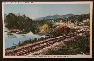 Fairview Cove, Franconia Range, No. Woodstock, N.H. Colesworthy Book Store 668