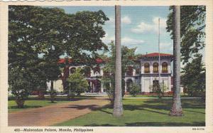 Philippines Manila Malacanan Palace Curteich