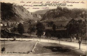 CPA Excursion ..PONTARLIER - Fort de Joux et du Larmont - La Cluse (299860)