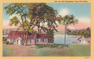 Massachusetts Cape Cod An Old Homestead