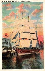 Massachusetts New Bedford Whaler C W Morgan