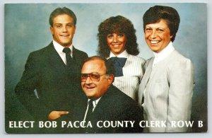 Oak Ridge NJ Politics~Elect Bob Pacca Passaic County Clerk~1984 Election PC