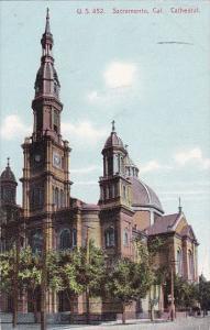 Cathedria Sacramento California 1916