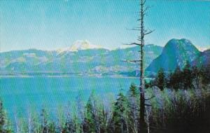 Canada View Of North Howe Sound 3 Miles From Squamish British Columbia