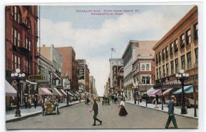 Nicollet Avenue Minneapolis Minnesota 1910c postcard