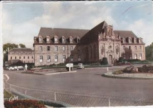 Hand Tinted RP: Le Lyce, Guingamp, Cotes d´Amor, France 1962