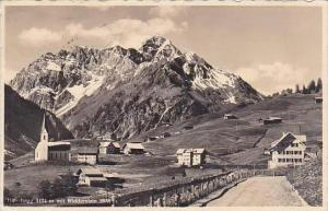 Austria Hirschegg mit Widderstein Real Photo
