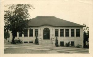 Los Angeles California 1946 School House RPPC real photo postcard 5975