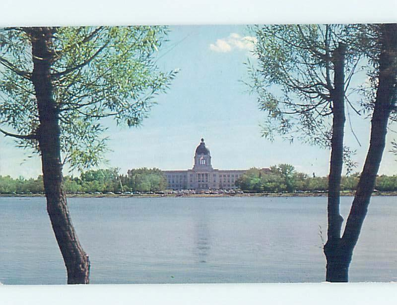 Pre-1980 PARLIAMENT BUILDING ON THE LAKE Regina Saskatchewan SK G1824