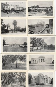 ORLANDA , Florida, 1923 ; 19 Mini view , Postcard box